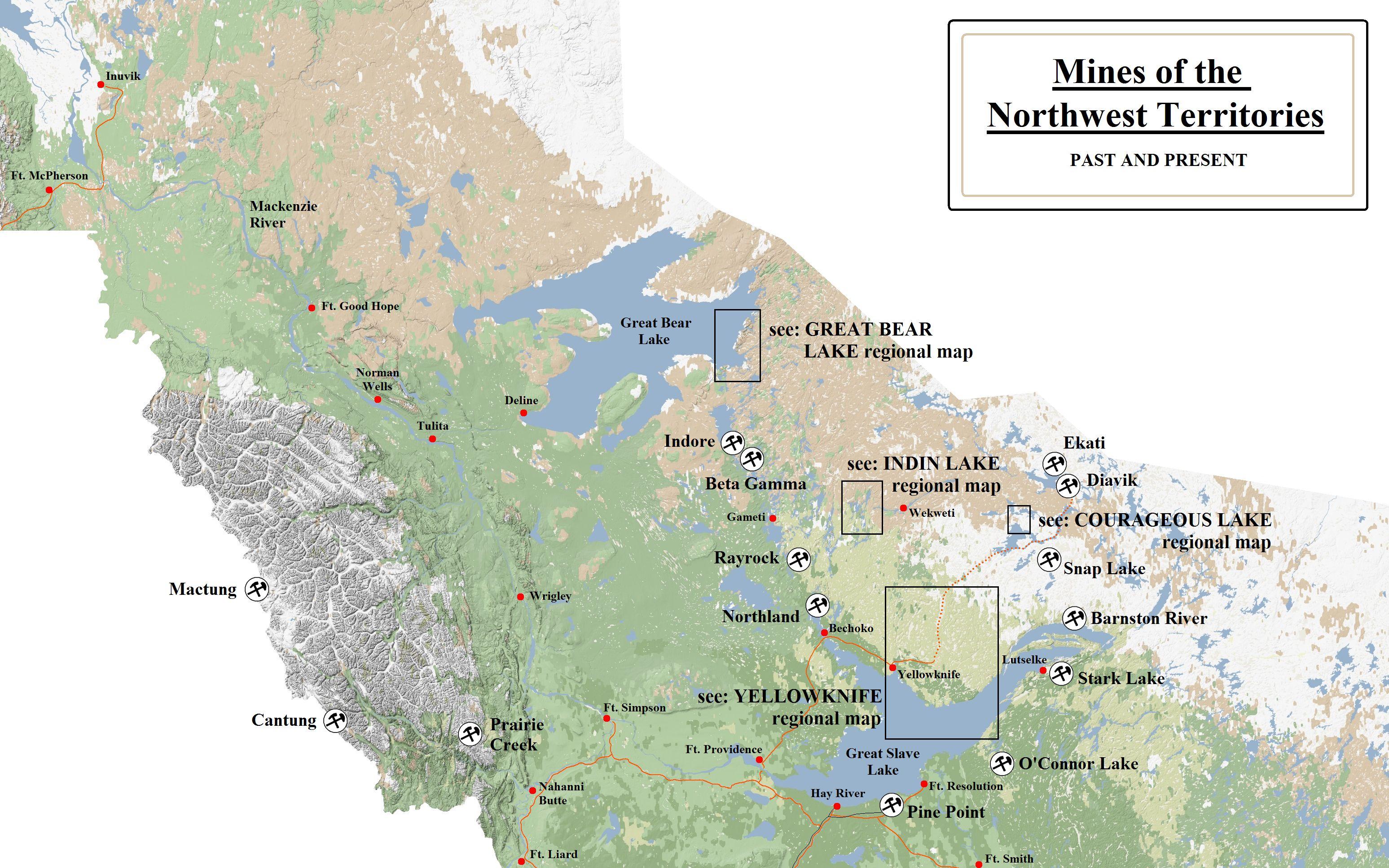 Mines In The Northwest Territories