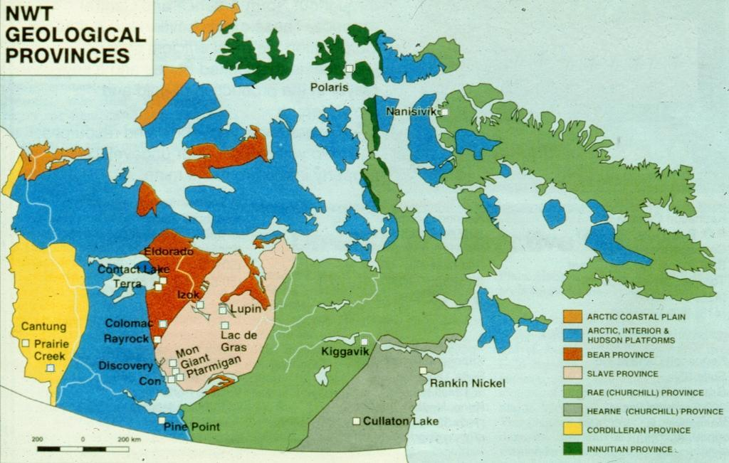 Map Of Canada Nunavut.Resources Nwt Nunavut Chamber Of Mines